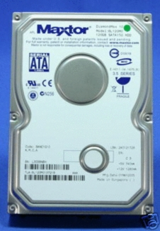 6L120M0 Maxtor Diamondmax 10, Internal Hard Drive, 120GB
