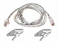 Belkin Components 20ft Cat6 Snagless Patch Cable Utp Orange Pvc Jacket 23awg 50 Micron Gold P
