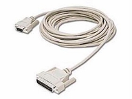 C2g 15ft Db25 Male To Db9 Female Null Modem Cable