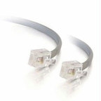 C2g 50ft Rj11 6p4c Modular Telephone Cable