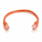 C2g 6in Cat5e Snagless Unshielded (utp) Network Patch Cable - Orange