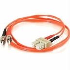 C2g C2g 15m Sc-st 62.5/125 Om1 Duplex Multimode Fiber Optic Cable (taa Compliant) -
