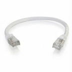 C2g C2g 1ft Cat6 Snagless Shielded (stp) Network Patch Cable - White