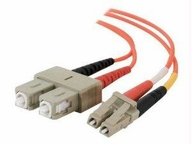 C2g C2g 1m Lc-lc 62.5/125 Om1 Duplex Multimode Fiber Optic Cable (taa Compliant) - O