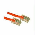 C2g C2g 5ft Cat5e Non-booted Crossover Unshielded (utp) Network Patch Cable - Orange