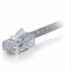 C2g C2g 7ft Cat6 Non-booted Network Patch Cable (plenum-rated) - Gray