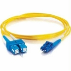 C2g Patch Cable - Lc - Male - Sc - Male - 2 M - Fiber Optic - Yellow