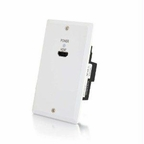 C2g Trulink Single Gang Hdmi Over Cat5 Wall Plate Transmitter- White