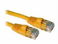 150ft CAT5e Snagless Patch Cable Yellow