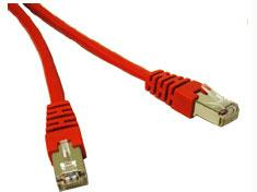 150FT SHIELD CAT5E MOLDED CBL RED