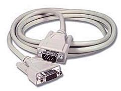 15ft HD15M/HD15F Monitor Extension Cable