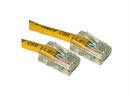 1ft CAT5e Assembled Patch Cable Yellow