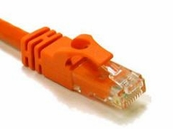 1ft CAT6 Snagless Patch Cable Orange