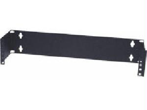 1U X 6IN-WALLMOUNT PATCHPANEL BRKT BLK