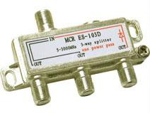 2150 MHZ THREE-WAY SPLITTER