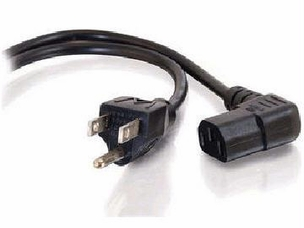 6ft Right Angle Universal Power Cord