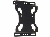 Chief Manufacturing Flat Panel Fixed Wall Mount - Black - Vesa Compatibility:75 X 75 Mm Or 100 X 1