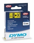 Dymo Black Print/ Yellow Tape 1/2 X 23