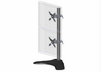 Ergotech Group Inc. 28in Pole - Black - Vertical - Dual