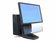 Ergotron Neo-flex All-in-one Lift Stand - Holds (1) Cpu (2)lcd Up To 24-with A 5 Lift (