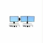 Ergotron Workfit-c Convert-to-dual Kit From Single Hd Display