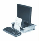 Fellowes Inc. Adjustable Feet Optimize Monitor Height Position (total Height - 4in To 6 1/2in)