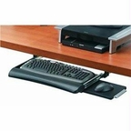 Fellowes Inc. Fellowes Office Suites Underdesk Keyboard Drawer Moves Keyboard And Mouse Off Th