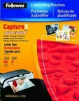 Fellowes Inc. Laminating Pouch Letter 11.5in X 9in Landscape 5mil 100pk