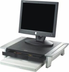 Fellowes Inc. Raises Monitor To Comfortable Viewing Height To Help Prevent Neck Strain. Suppor