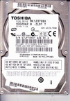 HDD2D62 Toshiba, Internal Hard Drive, 120GB