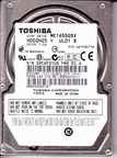 HDD2H25 Toshiba, Internal Hard Drive, 160GB