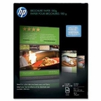Hewlett Packard Paper - Glossy Photo Paper - White - Letter - 50 Pcs.