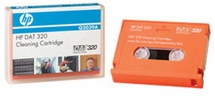 HP Q2030A - 4mm,  DAT 320  Cleaning Cartridge Tape