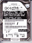IC25N030ATMR040 Hitachi TravelStar, Internal Hard Drive, 30GB