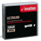 Imation 41089 LTO-1 Data Cartridge Tape  100/200GB