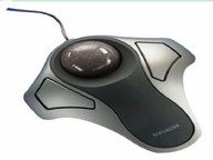 Kensingtonputer Trackball - Optical - 2 - Cable - Black