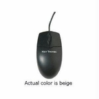 Keytronics Optical 2 Button Usb Mouse In Beige