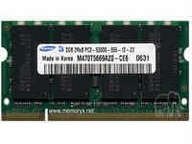 Kingston Mem Toshiba 2gb Ddr2 Sodimm