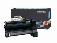Lexmark Toner Cartridge - Yellow - 15000 Pages At 5% Coverage - For Lexmark C772n / C772