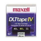 Maxell 183270 Data Cartridge Tape, DLTIV,40/80GB