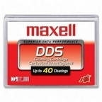 MAXELL 185966 -  4mm, DAT,  DDS, 1,2,3,4  Cleaning Cartridge Tape