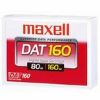 Maxell 230010 -  Data Cartridge Tape, 4mm DDS-6, DAT160, 160m, 80/160GB