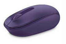 Microsoft Microsoft Wireless Mobile Mouse 1850 Win7/8 En/xc/xx Amer 1 License Purple