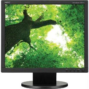 Nec Display Solutions Accusync As172-bk 17in. Led Backlit Lcd Monitor 1280 X 1024  Naviset Dig