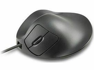Prestige International Inc. Hippus Handshoe Left Handed Ergonomic Mouse Wired Black Medium - Full