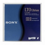 Sony LTX100G LTO Ultrium-1 Data  Cartridge 100/200GB Tape Media