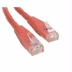 STARTECH 1 FT RED MOLDED CAT6 UTP PATCH CABLE - ETL VERIFIED