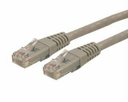 Startech 5 Ft Gray Molded Cat6 Utp Patch Cable