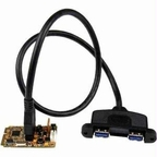 Startech Add Two Usb 3.0 Ports Through A Mini Pci Express Slot - 2 Port Mini Pcie Usb 3.0