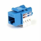 Startech Cat 6 Rj45 Keystone Jack Blue - 110 Type